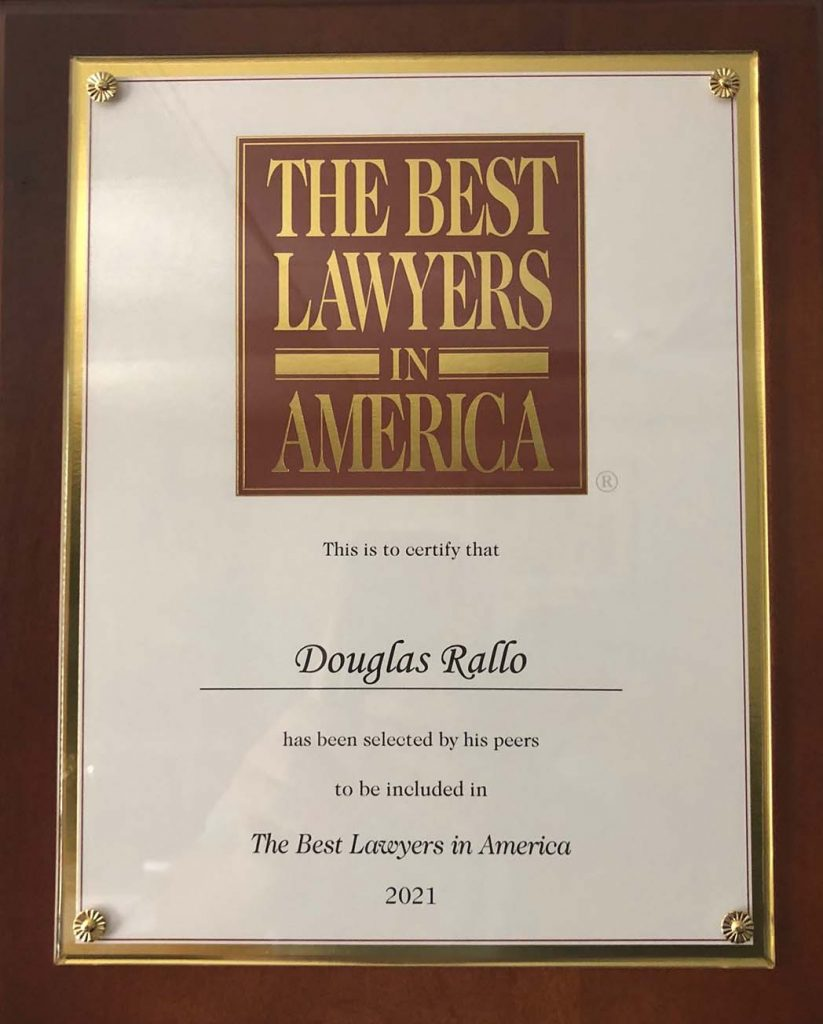 The Best Lawyers in America 2021 Douglas Rallo